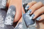 breathtaking christmas nail