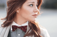 Is Bow Tie a New Trend Among Women?