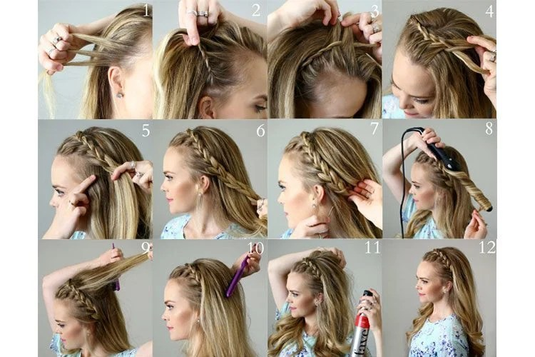 Braiding Hair Tutorials How To Braid My Hair