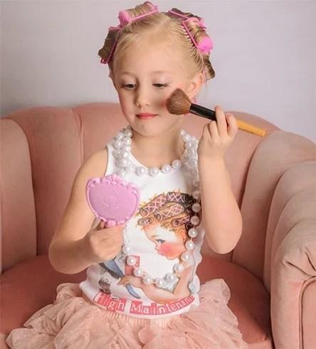 Makeup tips for kids