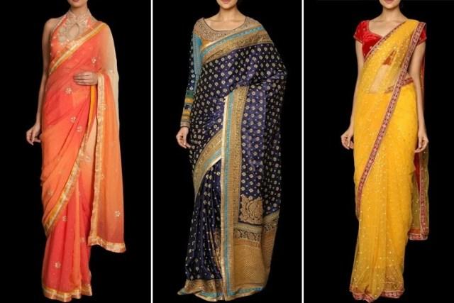 Ritu Kumar Designer Sarees
