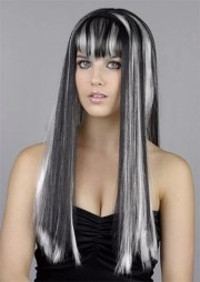 black and white hair color google