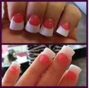 long acrylic nails design