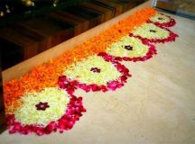 Latest Flower Rangoli Designs 2017: That Will Steal Your ...