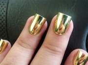 gorgeous mirror nails