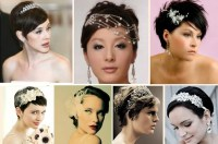 Wedding Hairstyles For Short Hair Brides Tying The Knot ...