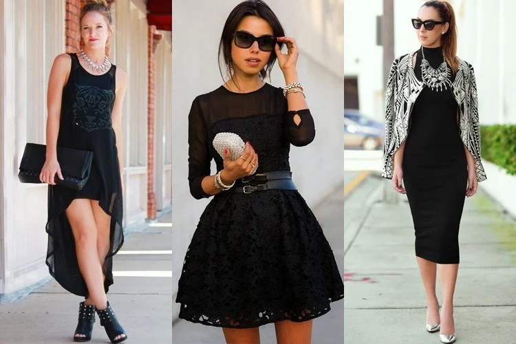How To Accessorise A Black Dress