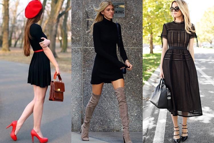 Ways To Accessorise a Black Dress