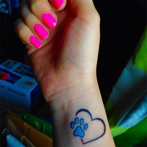 small cute tattoos for those who like to keep it small and tiny