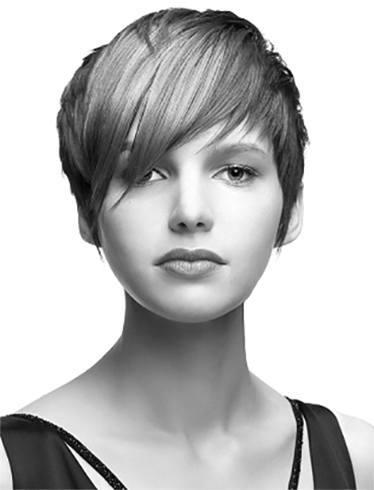 Asymmetrische Pixie Haarschnitt