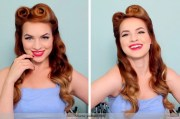 step retro hairstyles