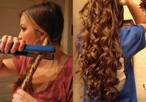 How To Crimp Haar zu Hause