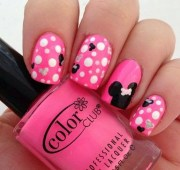 minnie mouse nails disney
