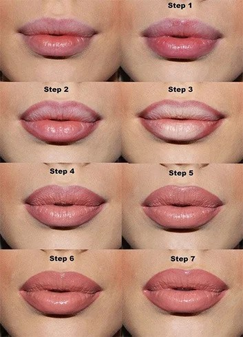 Particular Lipstick Colors For Lip Shapes To Use - Glossy ...