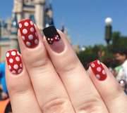 minnie mouse nails disney