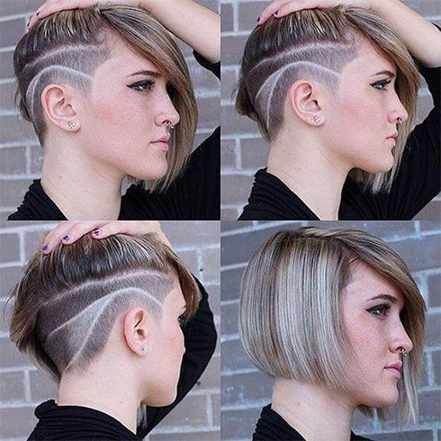 heard about women s hair tattoo designs try one of them for fun sake