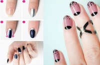 Reverse French Manicure: The Hottest Thing Among The Paparazzi