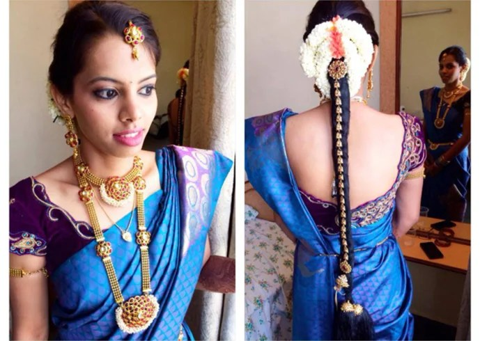32 Easy And Fashionable Hairstyles For Sarees