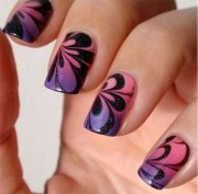 marble nail art ideas with step