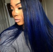 hair color black women