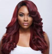 hair color black women