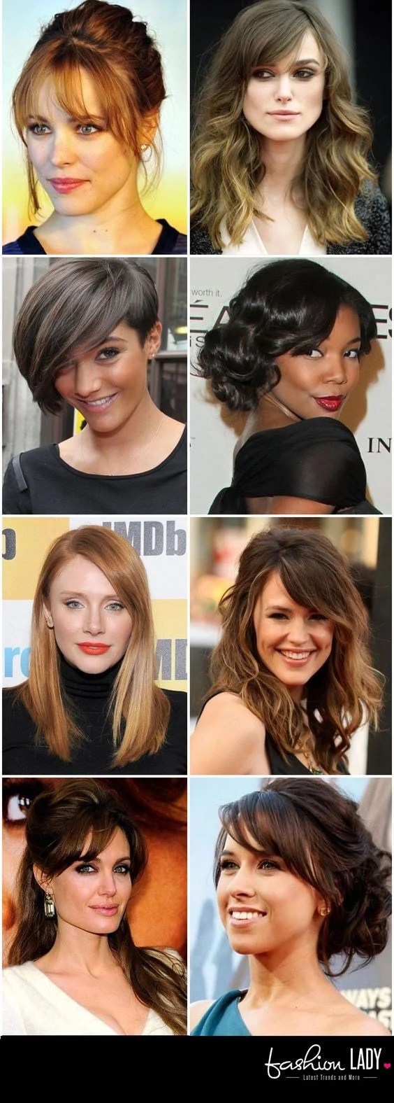 30 amazing hairstyles for big foreheads - tip to hide large