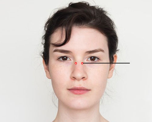 Pressure Points For Headache Relief: Drilling Bamboo Point