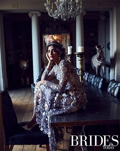 Sonam Kapoor Brides Today India February 2018 Photoshoot