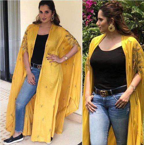 Sania Mirza Fashion