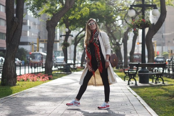Explore your style – wearing sneakers every day.