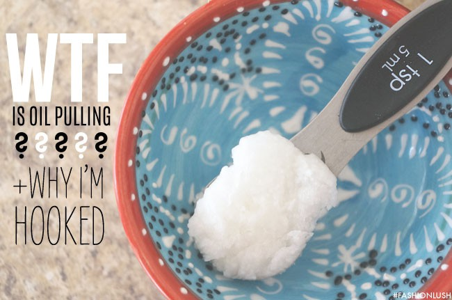 oil pulling and it's benefits