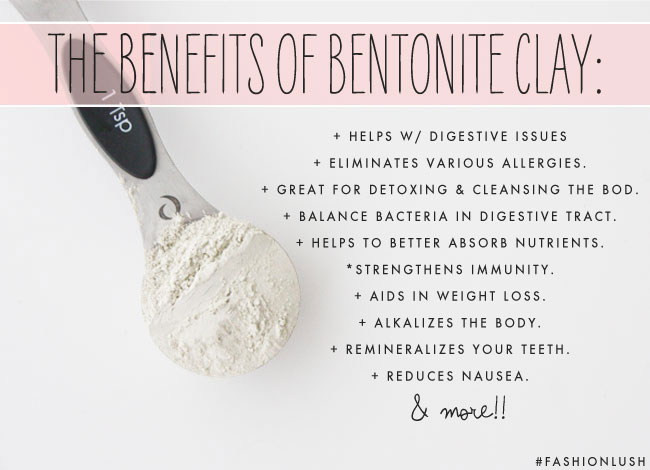 WTF Is Bentonite Clay Why Im Chugging It