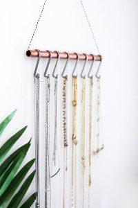 DIY Necklace Holder (for the minimalist)