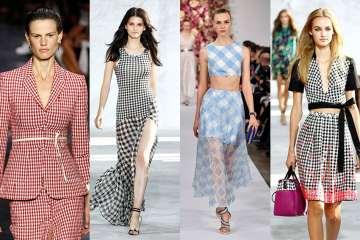 Kostkované vzory. Zdroj: fashiondays.cz