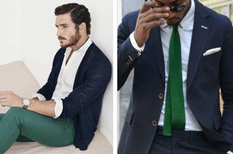 4 klíčové barevné kombinace pro pánské outfity 2015