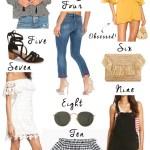 11 Summer Picks Your Closet Needs Now