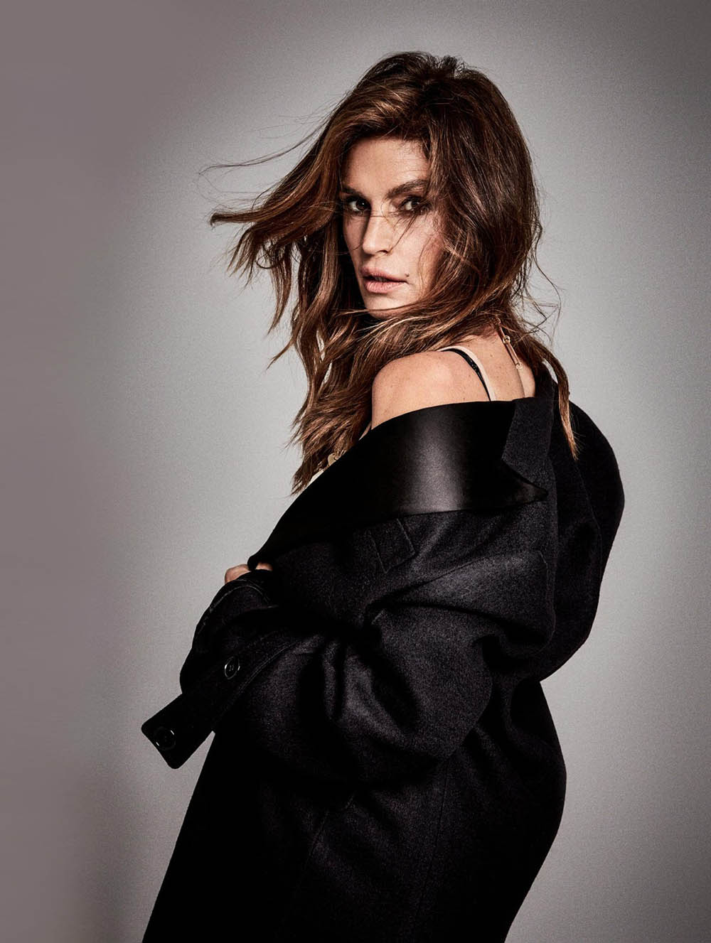 Cindy Crawford Covers Madame Figaro December 29th 2017 By