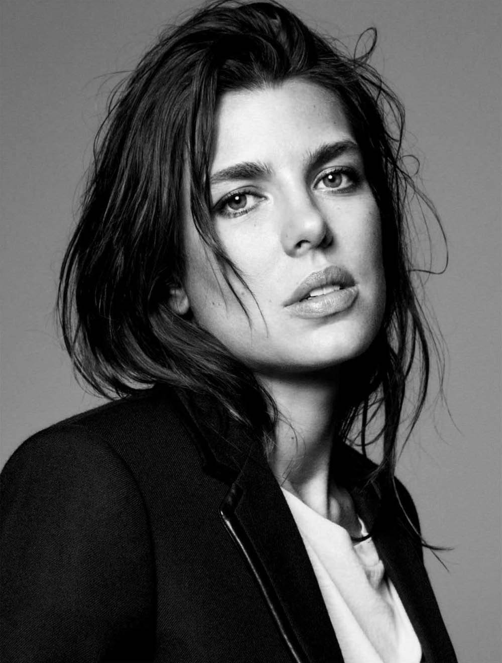 Charlotte Casiraghi covers Vogue Germany September 2018 by