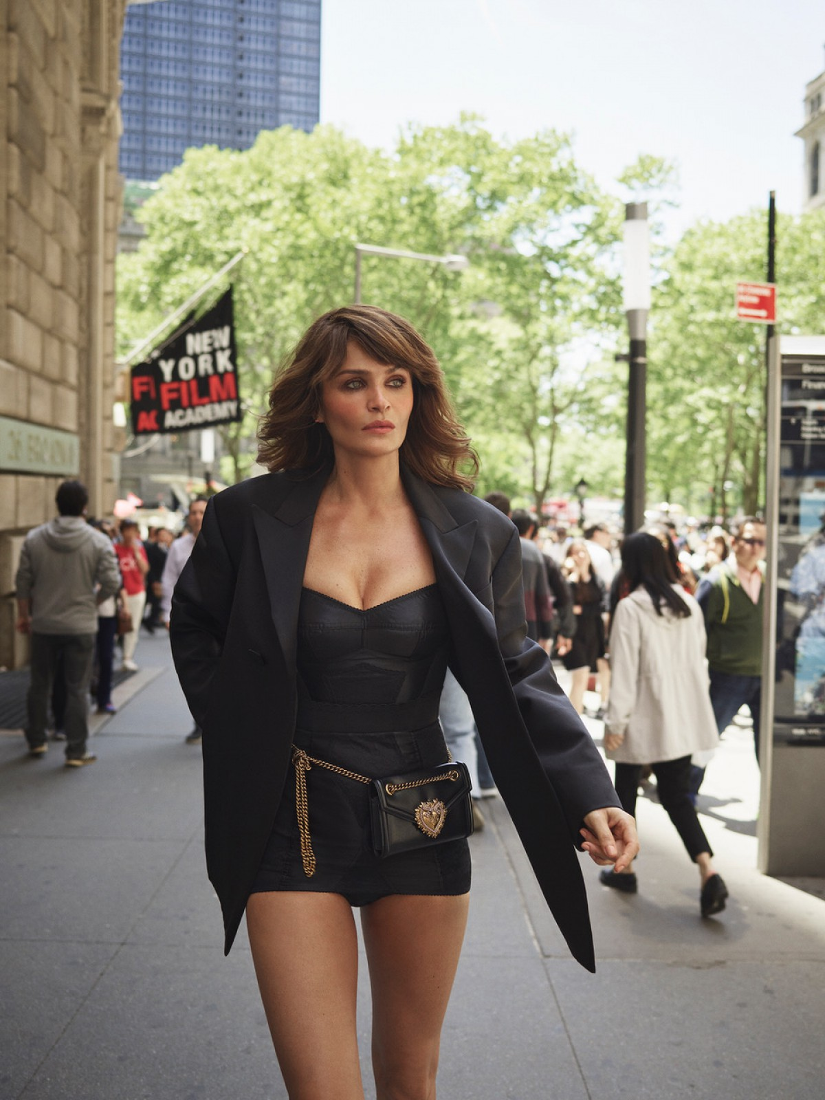 Helena Christensen By Matthew Sprout For InStyle US August