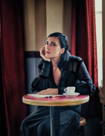 Nadine Labaki Covers Vogue Arabia October 2018 Drew