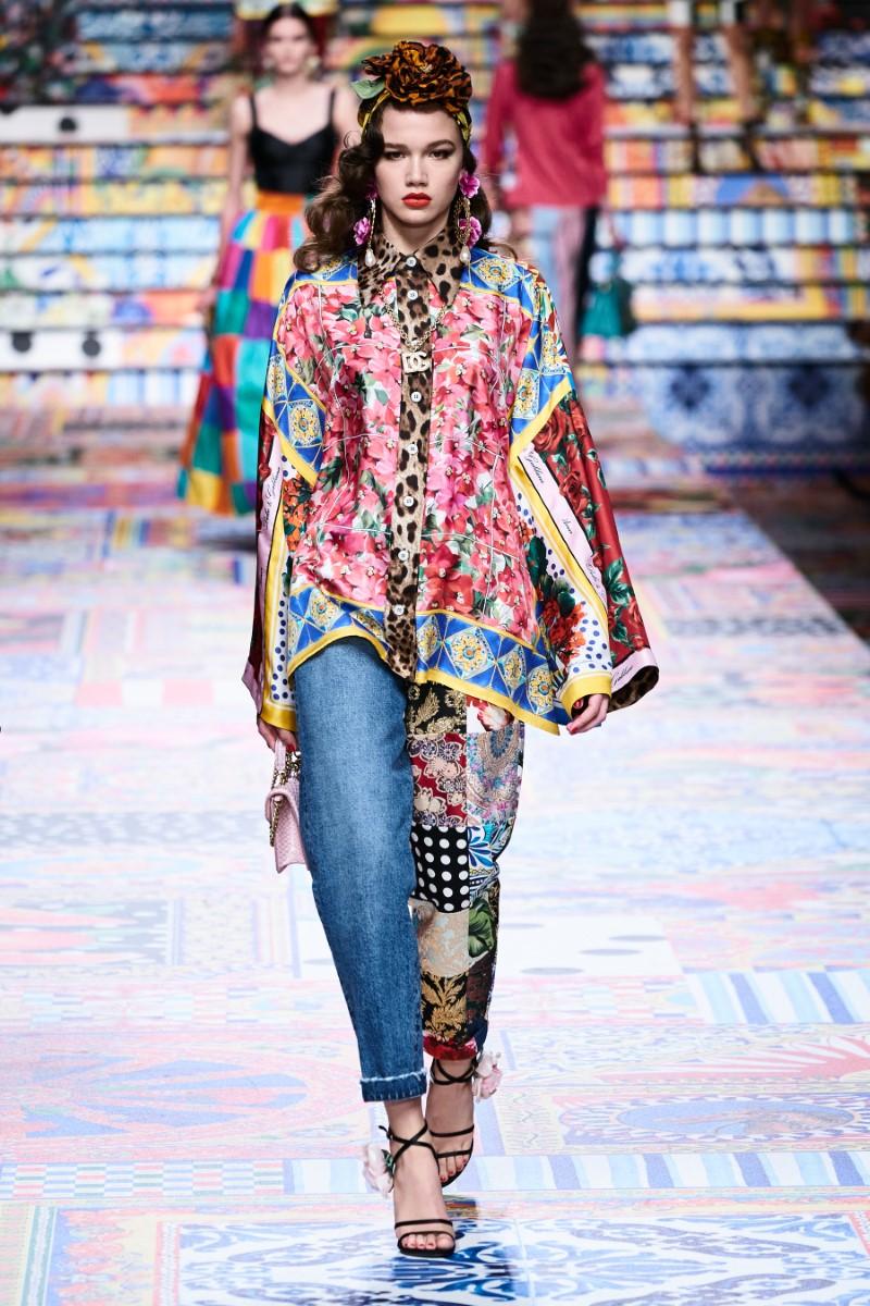 Dolce & Gabbana - Spring/Summer 2021 - Milan Fashion Week ...