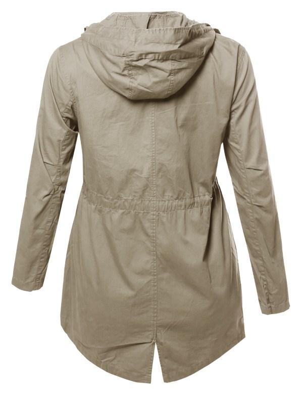 Plus Size Safari Jackets Woman
