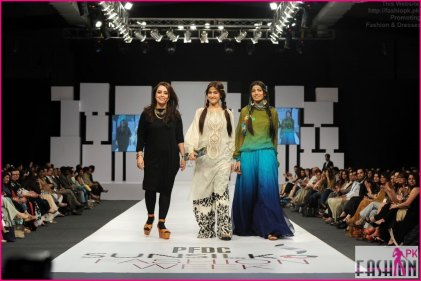 P Maria B SunFashion 2014-13 2014 Fashion Dresses In Pakistan 2014 Fashion Dresses In Pakistan PFDC Maria B Sunsilk Fashion Week Dresses 2014 13