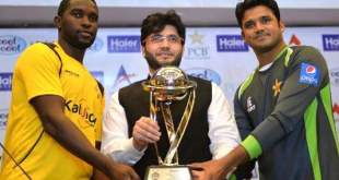 pakistan vs new zealand endeavor to series azhar ali Pakistan Vs New Zealand Endeavor to Series Azhar Ali pakistani cricket captain azhar ali r and his zimbabwe counterpart elton chigumbura l pose with sponsor javed afridi c as they hold the one day international trophy in lahore on may 25 2015