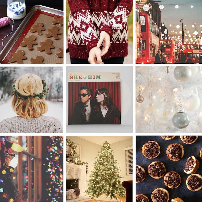 Christmas Moodboard FASHION READY