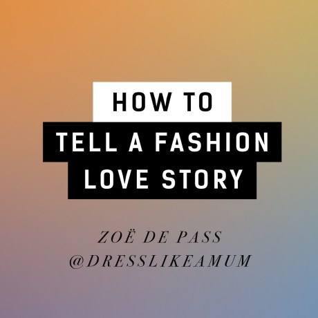 Video: How to tell a fashion love story