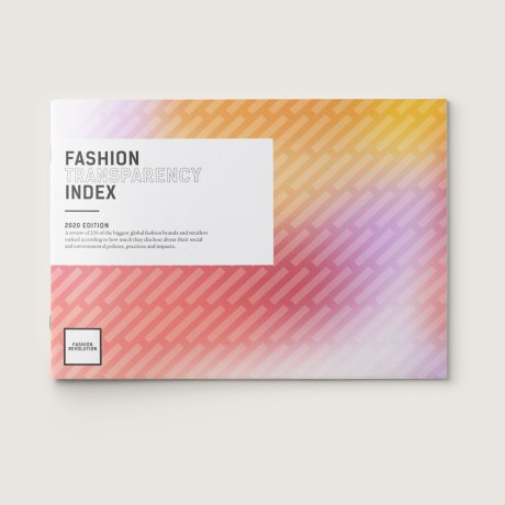 Fashion Transparency Index 2020