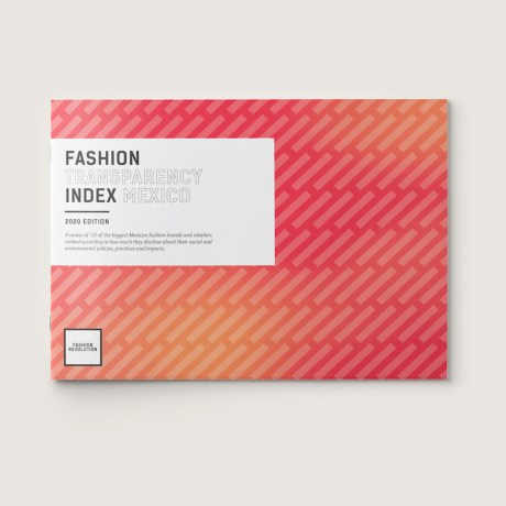Fashion Transparency Index Mexico 2020