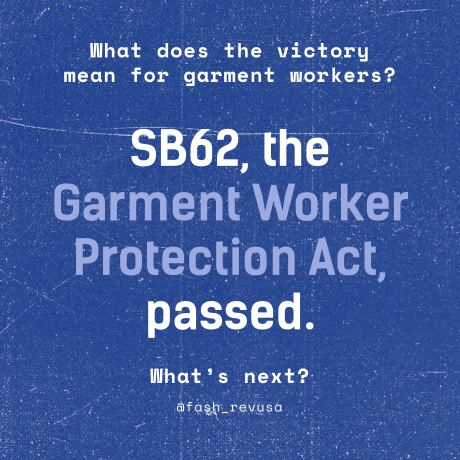 A Major Win for U.S. Garment Workers–And What's Next