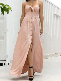 WAVERLY PINK MAXI DRESS